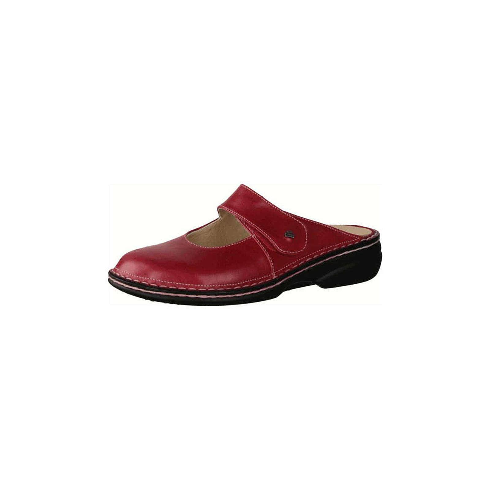Finn Comfort Pantoletten rot rot Damen Gr. 37