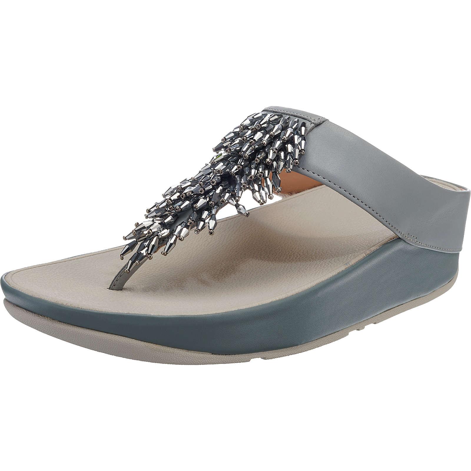 FitFlop RUMBA Komfort-Sandalen hellblau Damen Gr. 39