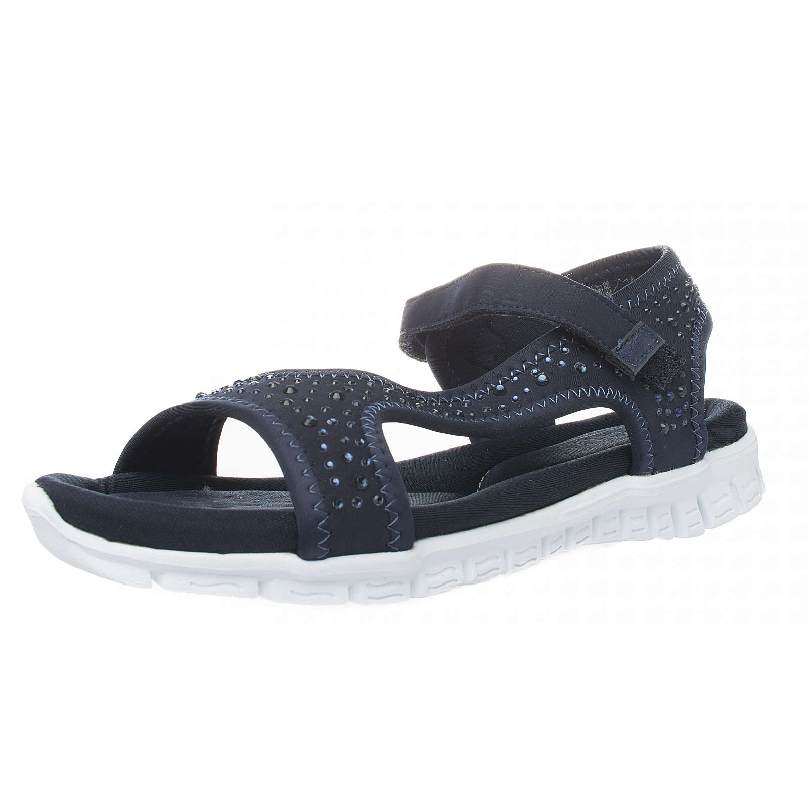 Fitters Footwear AngelKlassische Sandalen dunkelblau Damen Gr. 42