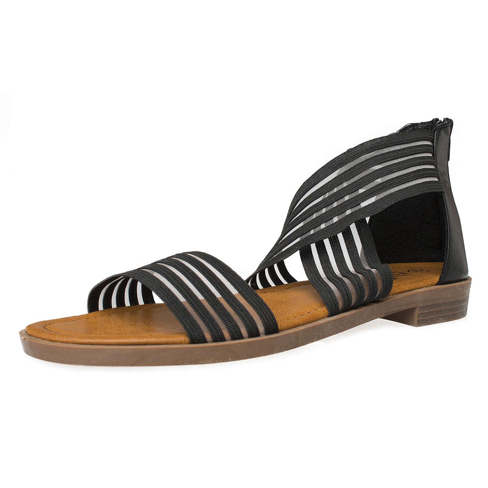 Fitters Footwear That Fits Sandale Christina Klassische Sandalen schwarz Damen Gr. 44