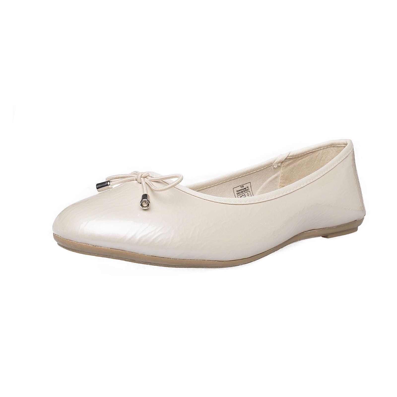 Fitters Footwear That Fits Ballerina Mila Klassische Ballerinas nude Damen Gr. 45