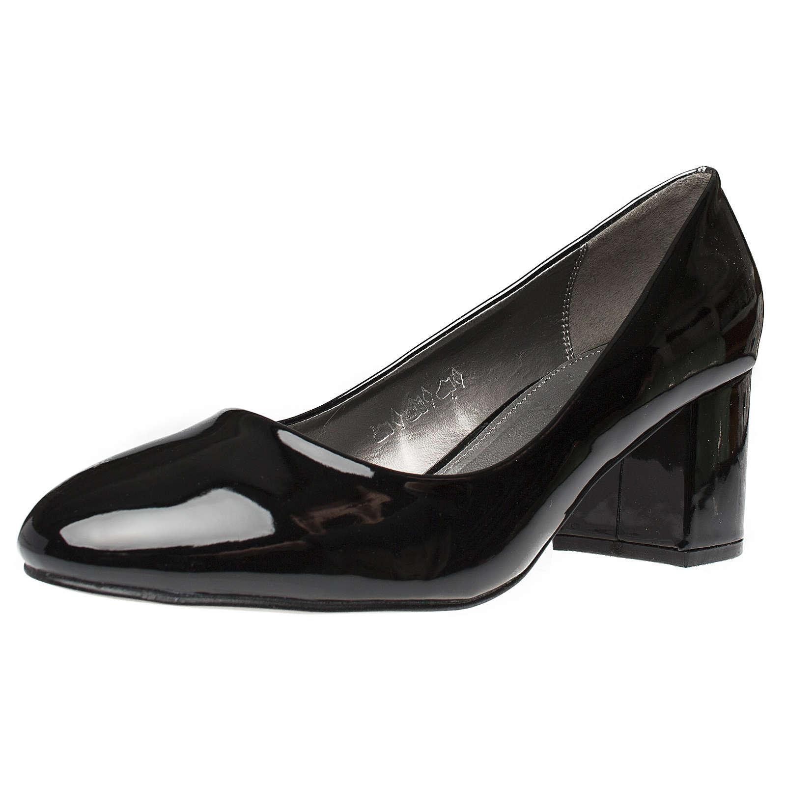 Fitters Footwear Pumps Sesy in schwarz Lack schwarz Damen Gr. 42