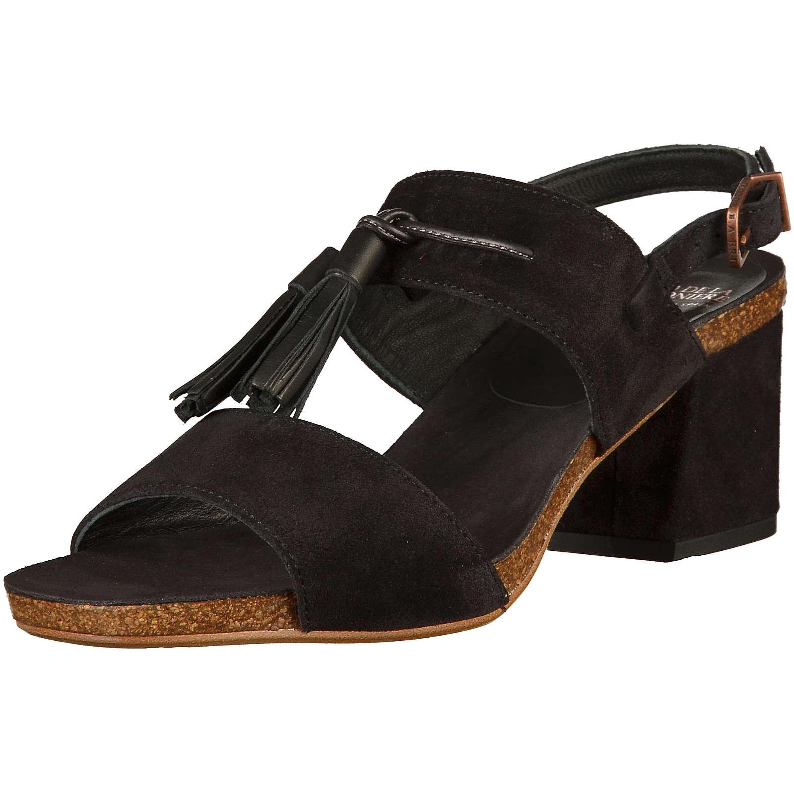 Fred de la Bretonière Klassische Sandaletten schwarz Damen Gr. 37