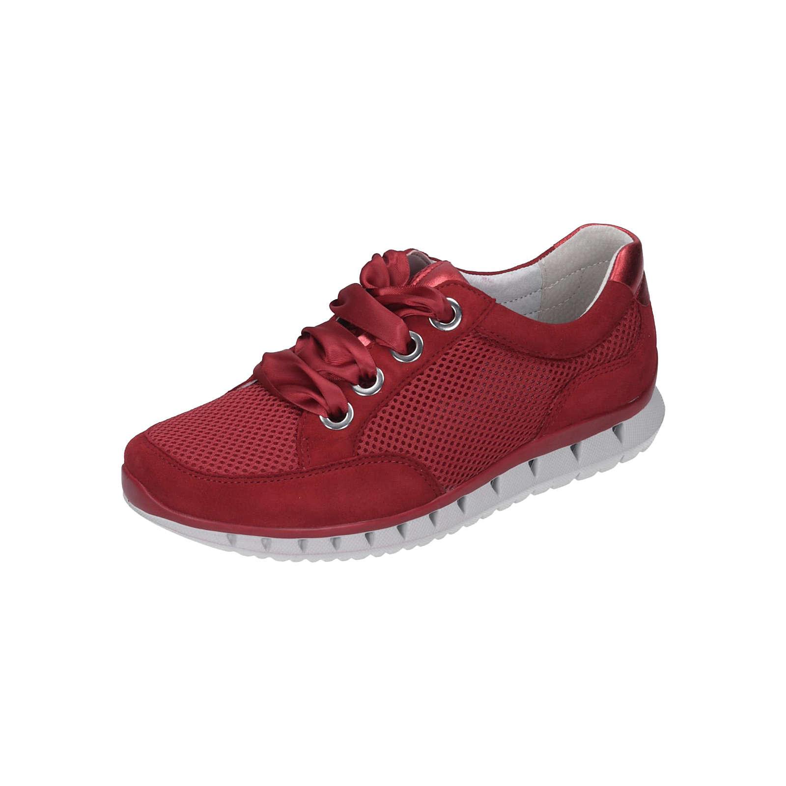 Gabor Damen Sneaker Sneakers Low rot Damen Gr. 40 2/3