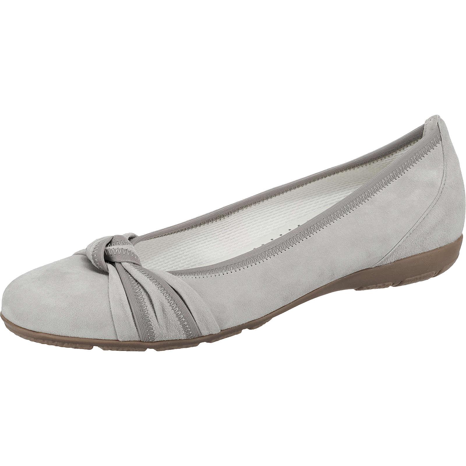 Gabor Klassische Ballerinas grau Damen Gr. 38,5