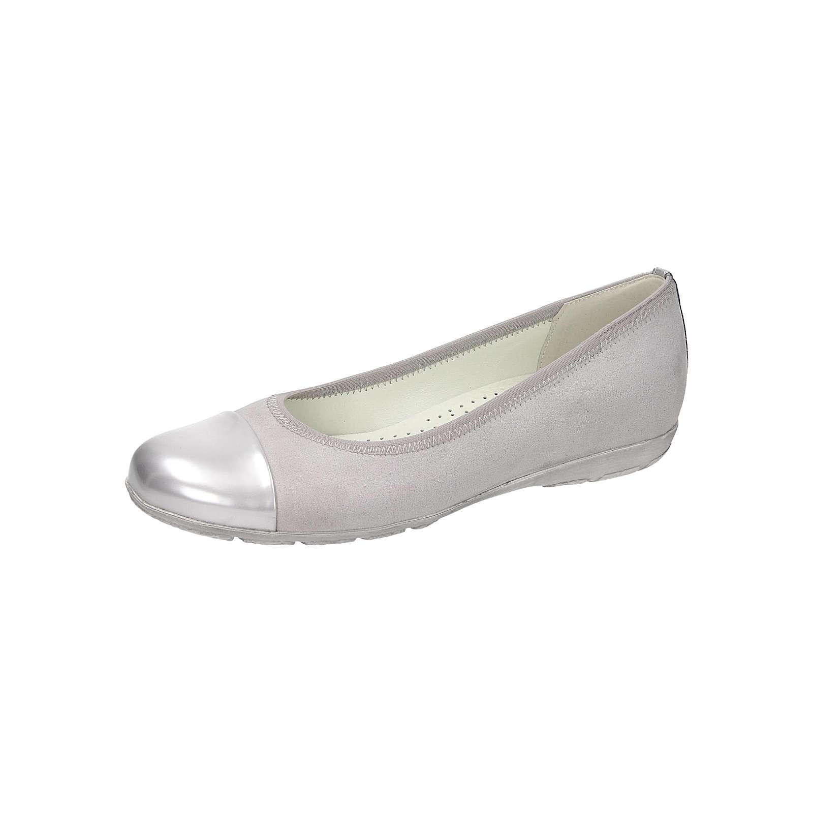 Gabor Klassische Ballerinas grau Damen Gr. 41