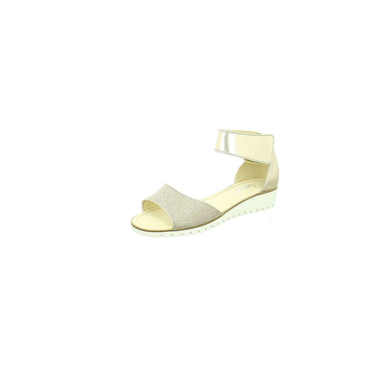 Gabor Klassische Sandalen beige Damen Gr. 36