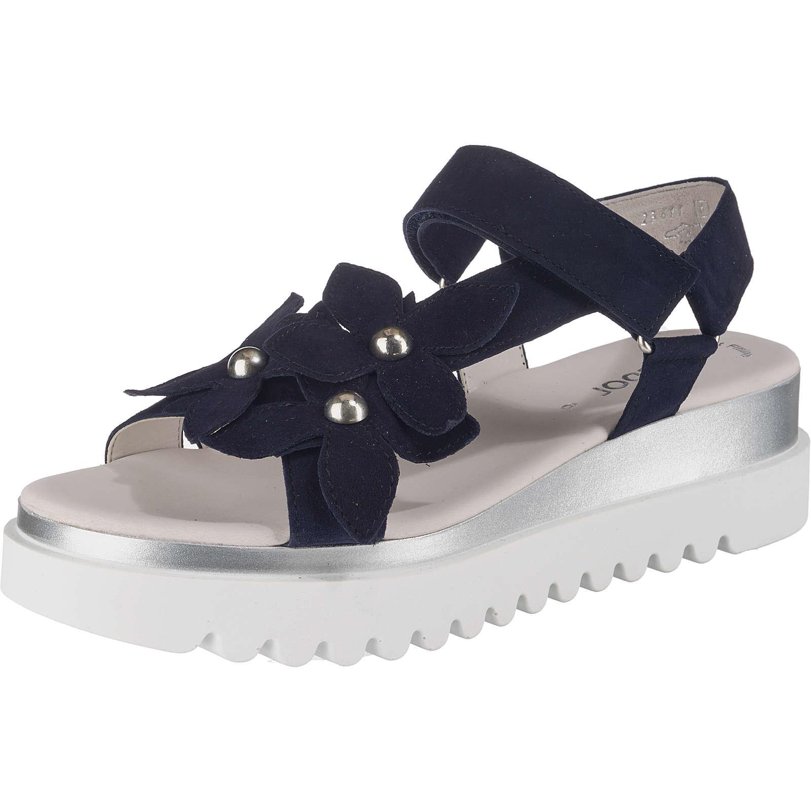 Gabor Klassische Sandalen blau Damen Gr. 37,5
