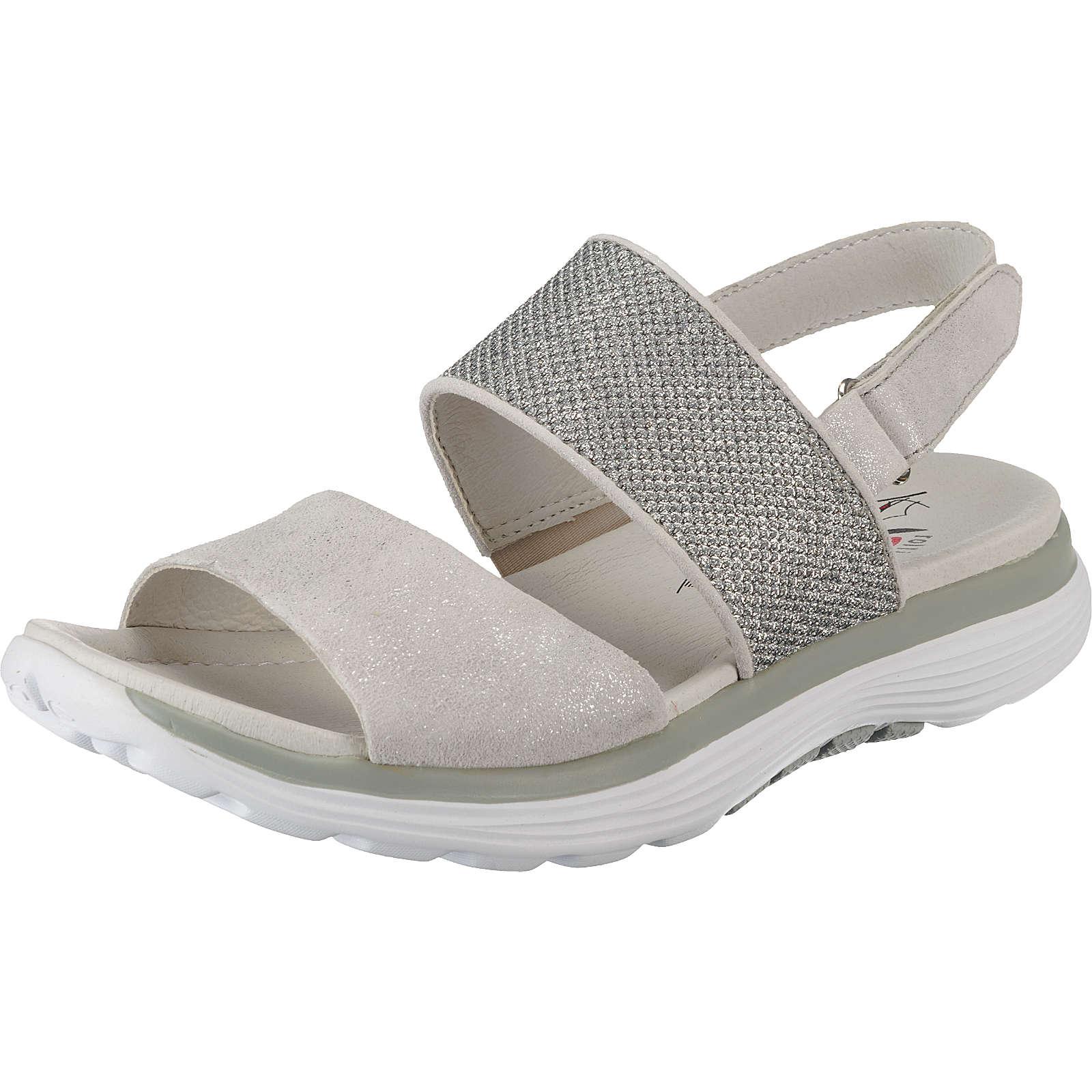 Gabor Klassische Sandalen silber Damen Gr. 42