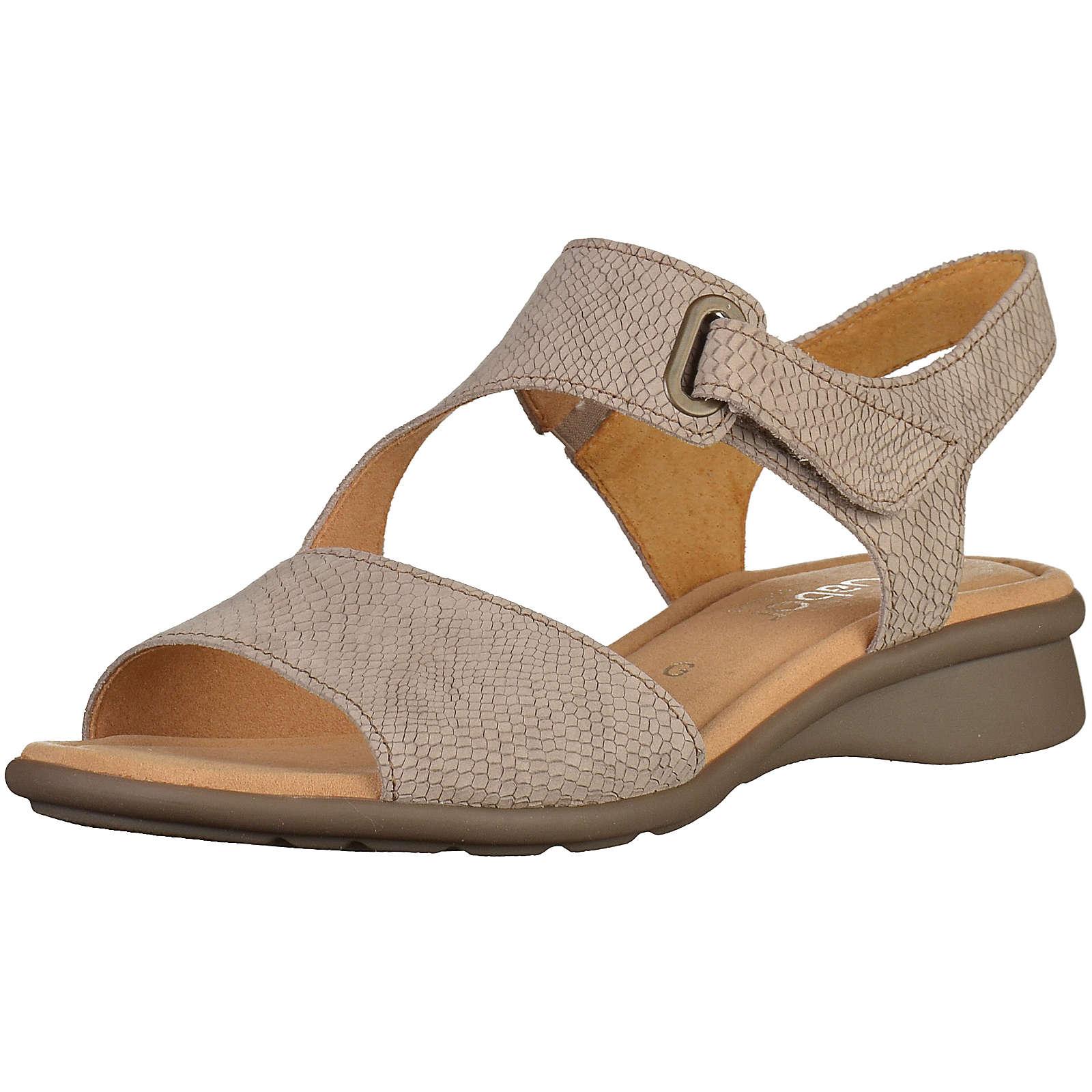 Gabor Klassische Sandaletten beige Damen Gr. 40,5