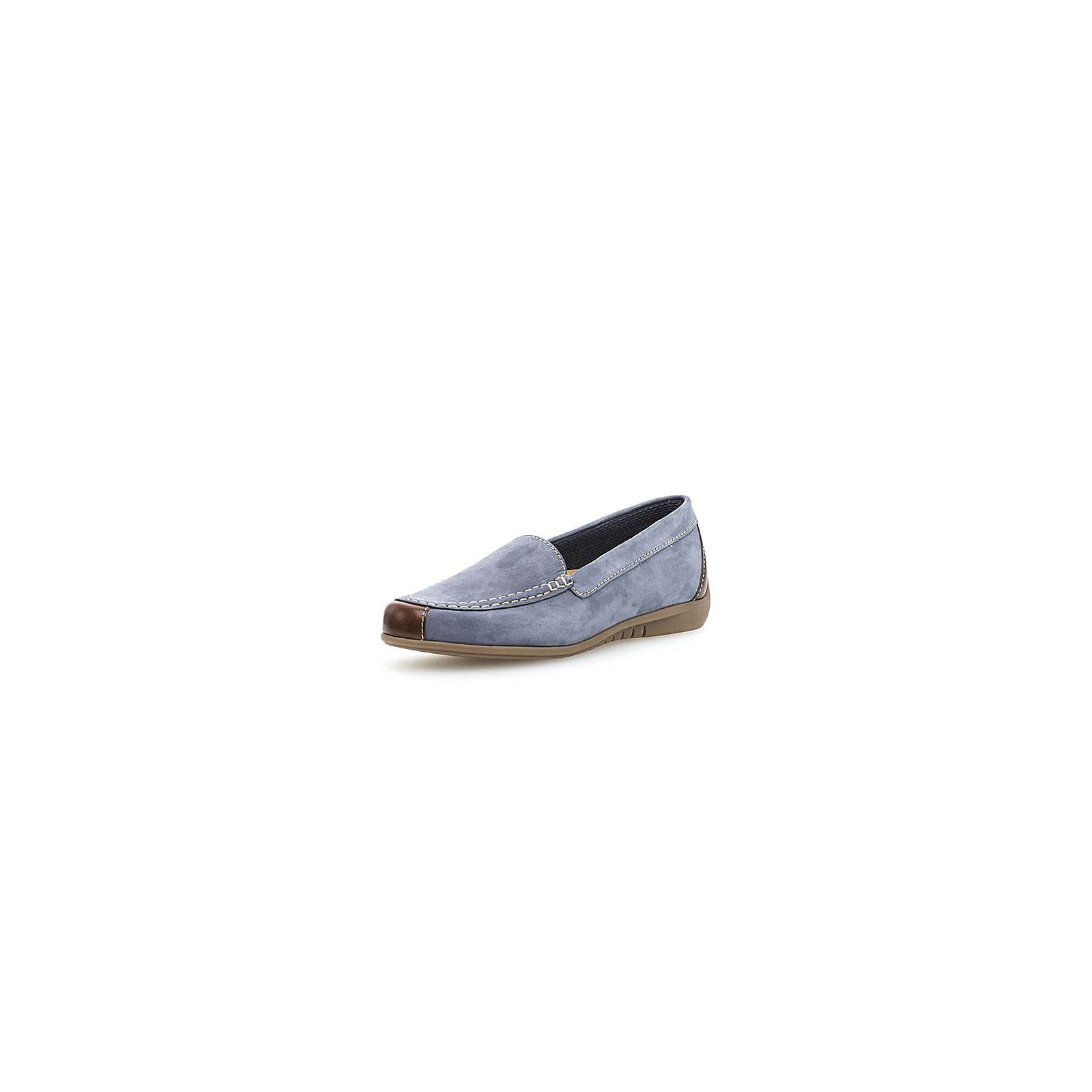 gabor klassische slipper blau damen gr 38. Black Bedroom Furniture Sets. Home Design Ideas