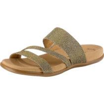 Gabor Komfort-Pantoletten bronze Damen Gr. 37