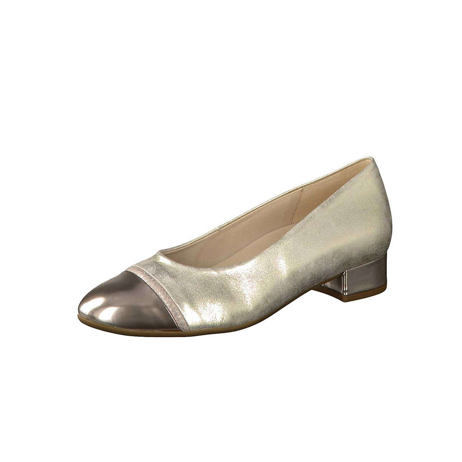 Gabor Pumps metall bronze Damen Gr. 38