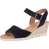 Gabor Sandalen Klassische Sandaletten dunkelblau Damen Gr. 36