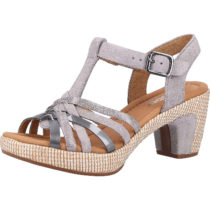 Gabor Sandalen Klassische Sandaletten grau Damen Gr. 41
