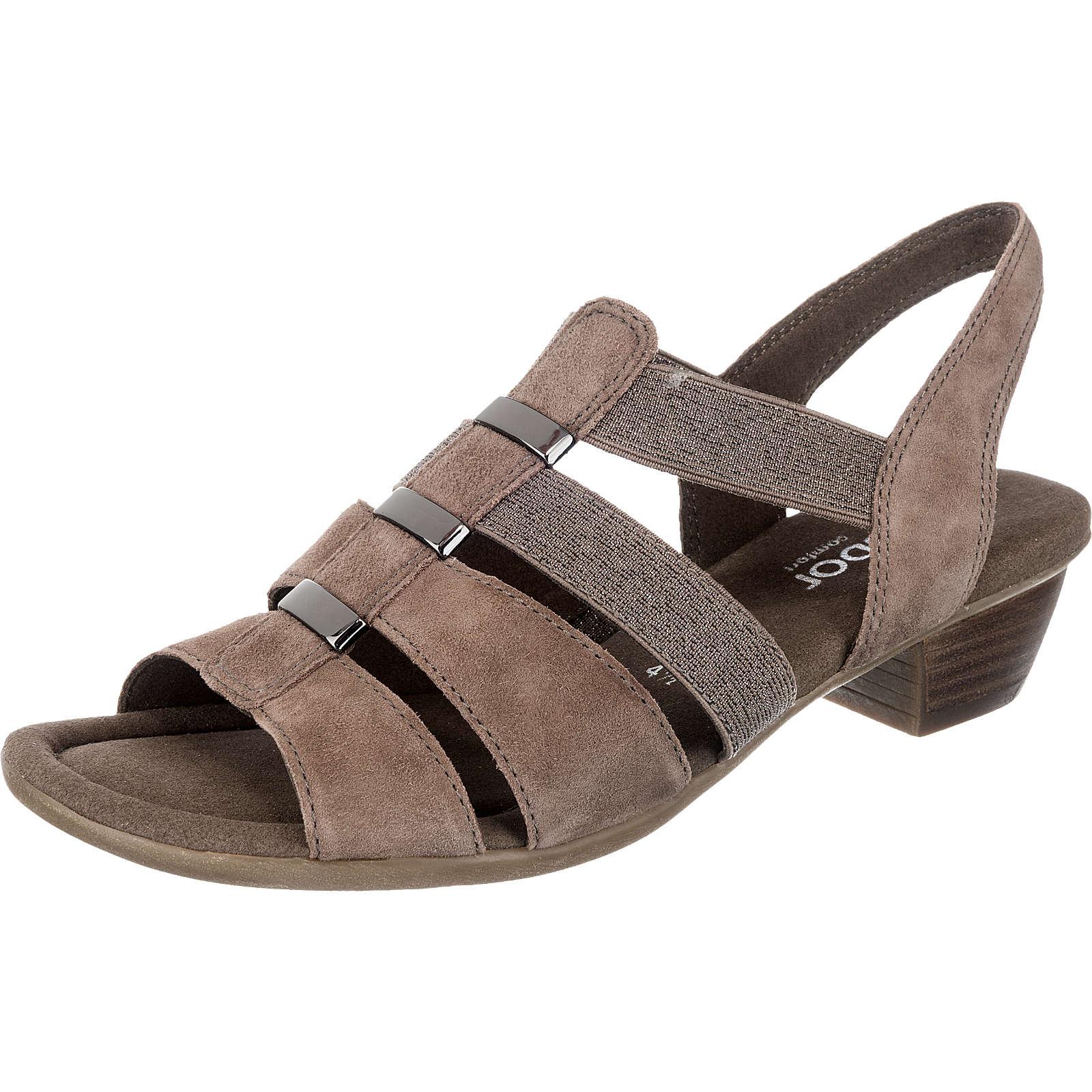 Gabor Klassische Sandaletten beige Damen Gr. 42