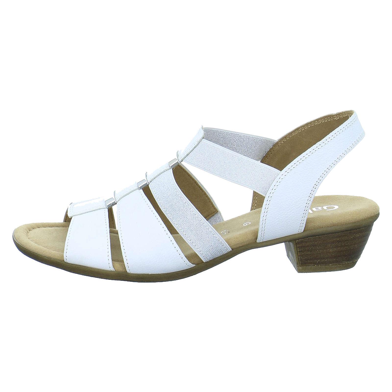 Gabor Sandaletten / Brautschuhe weiß Damen Gr. 40