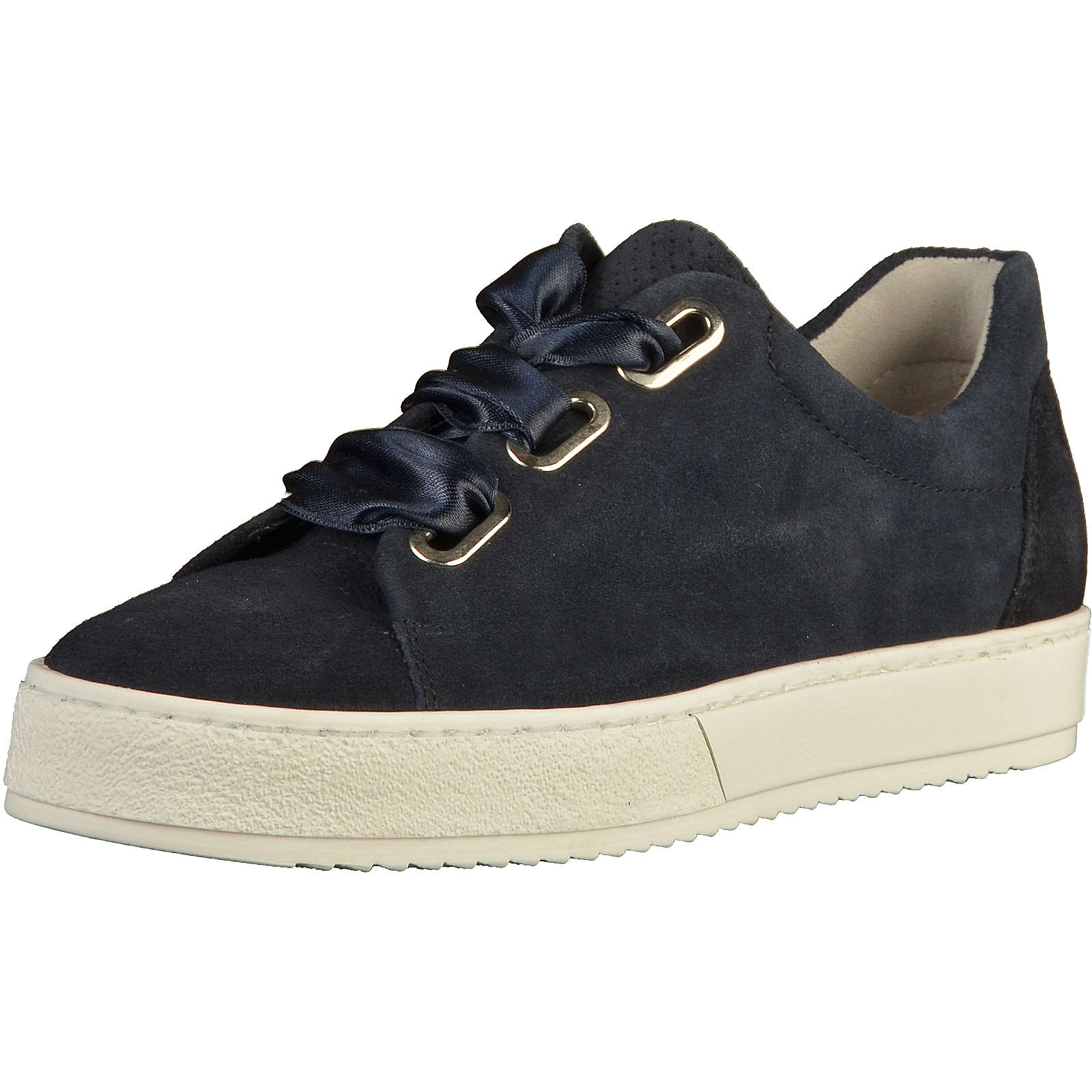 gabor sneaker sneakers low blau damen gr 41. Black Bedroom Furniture Sets. Home Design Ideas