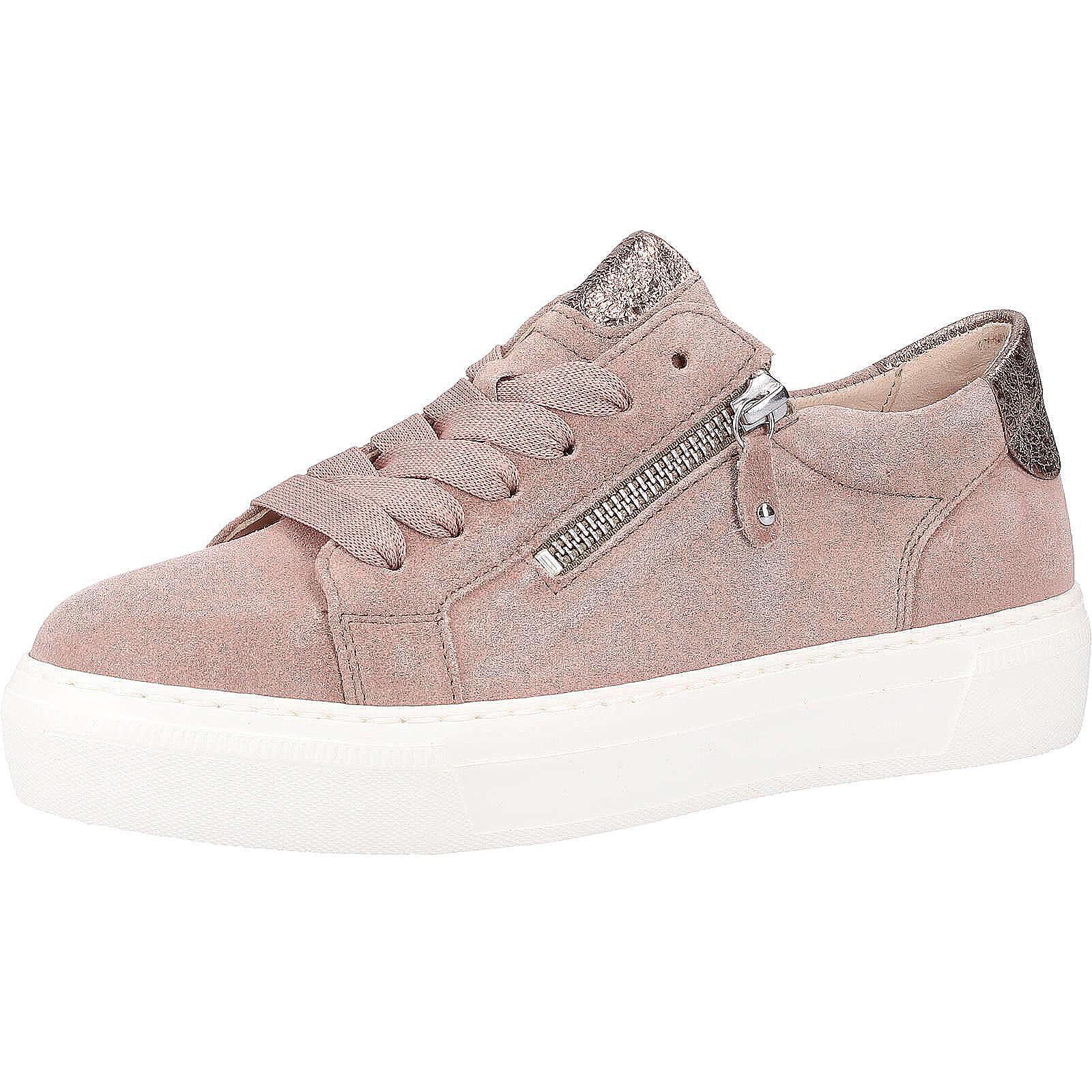 gabor sneaker sneakers low rosa damen gr 39. Black Bedroom Furniture Sets. Home Design Ideas
