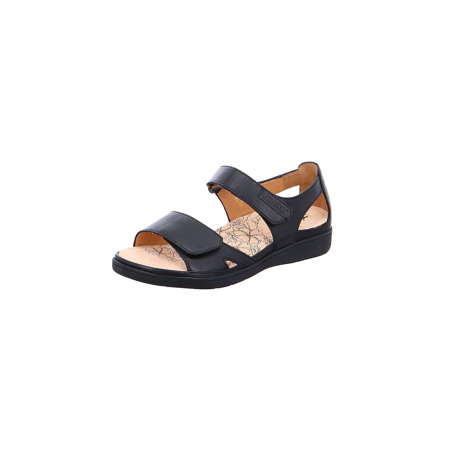 Ganter Klassische Sandalen schwarz Damen Gr. 37
