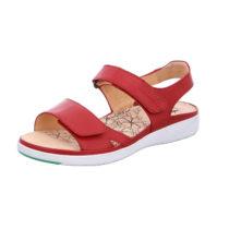 Ganter Klassische Sandaletten rot Damen Gr. 40