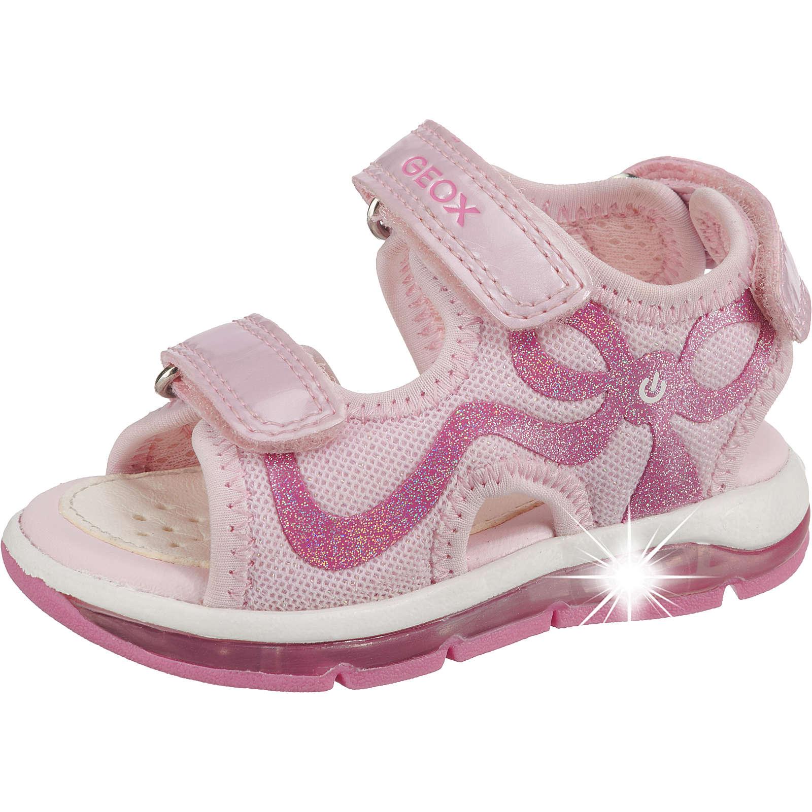 GEOX Baby Sandalen Blinkies TODO GIRL für Mädchen rosa Mädchen Gr. 25