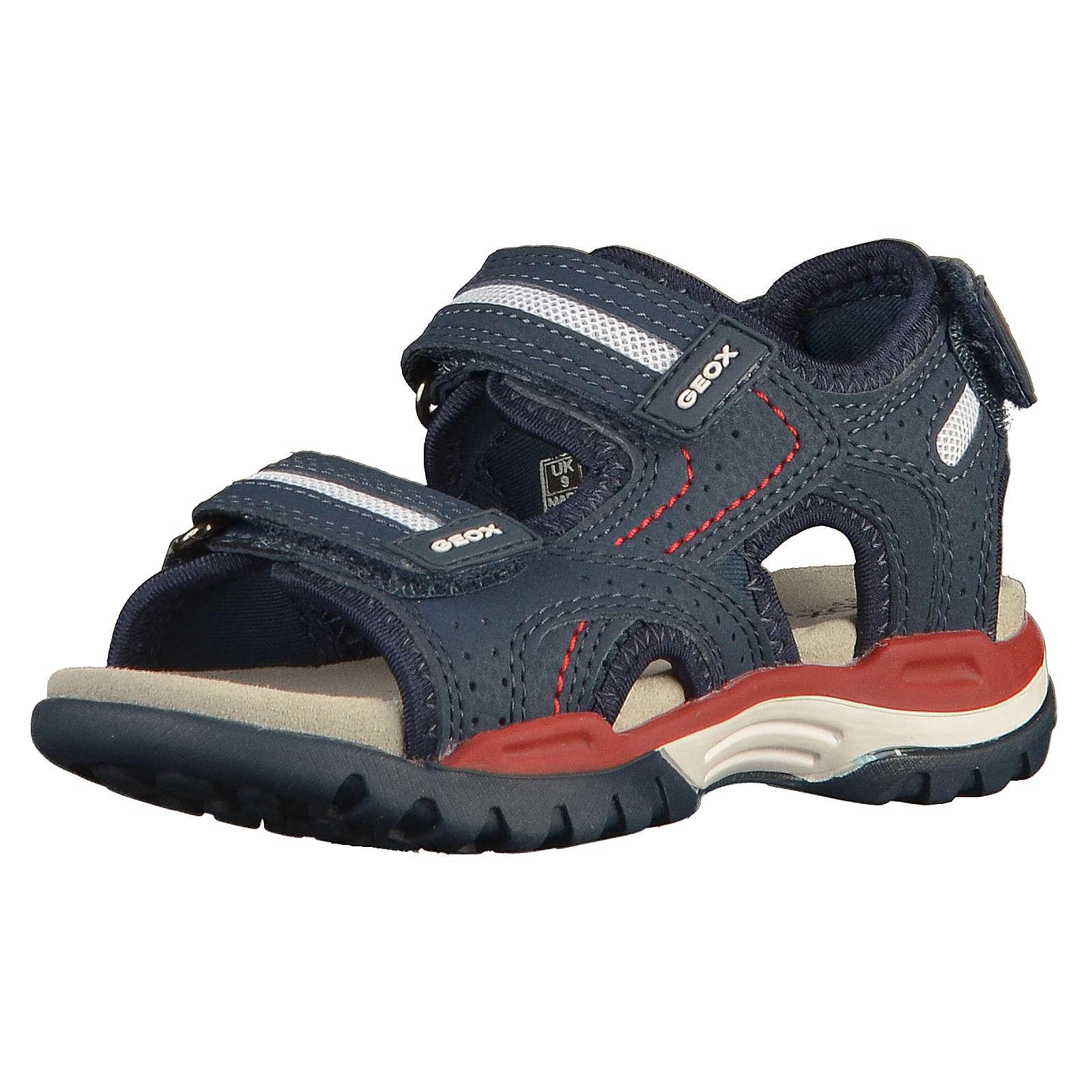 GEOX Sandalen blau/rot Junge Gr. 28