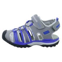 GEOX Sandalen für Jungen grau/lila Junge Gr. 31