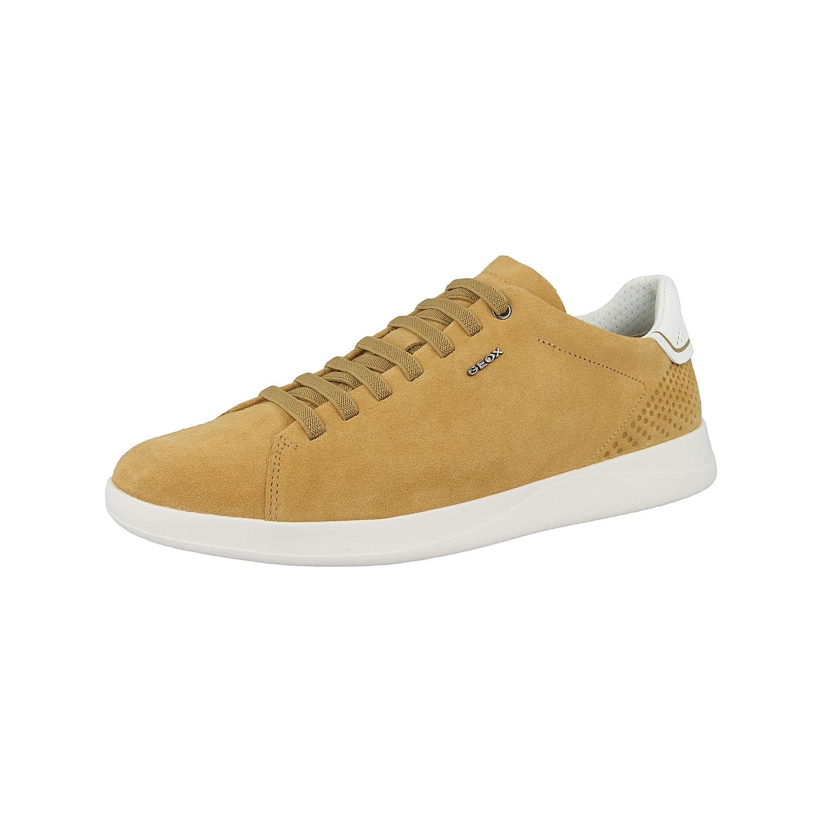 GEOX Schuhe U Kennet B Sneakers Low gelb Herren Gr. 44