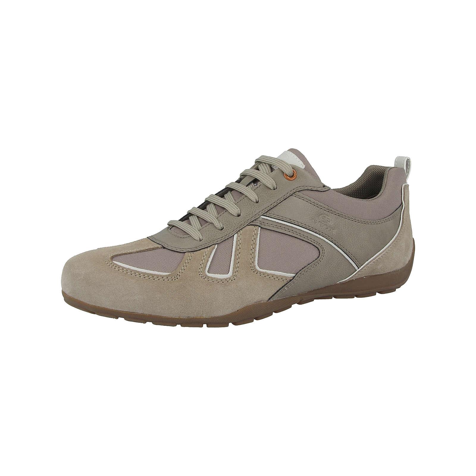 GEOX Schuhe U Ravex D Sneakers Low beige Herren Gr. 42