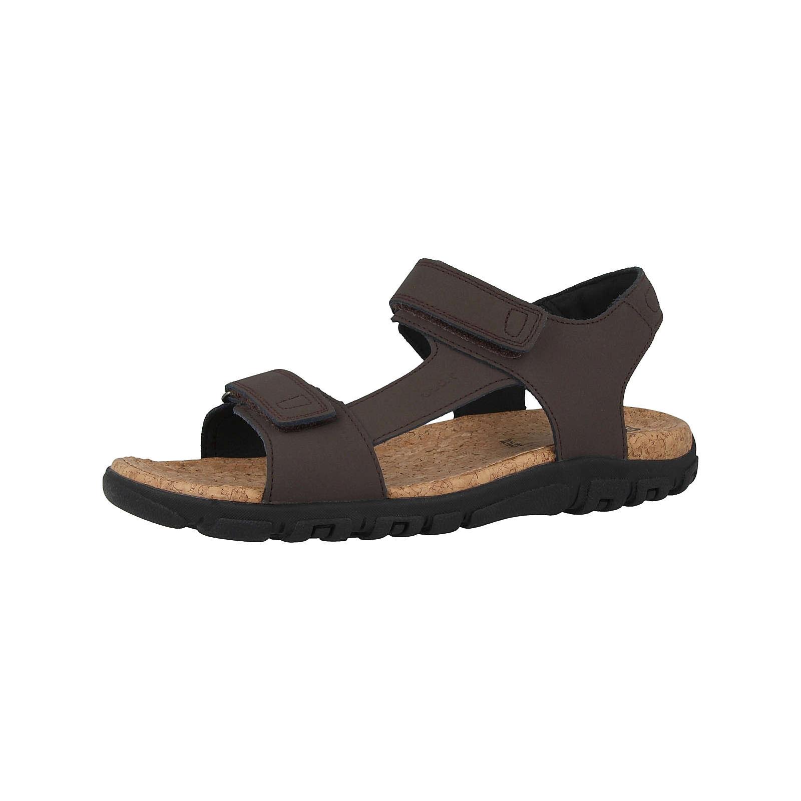GEOX Schuhe U S.Strada C Klassische Sandalen braun Herren Gr. 43