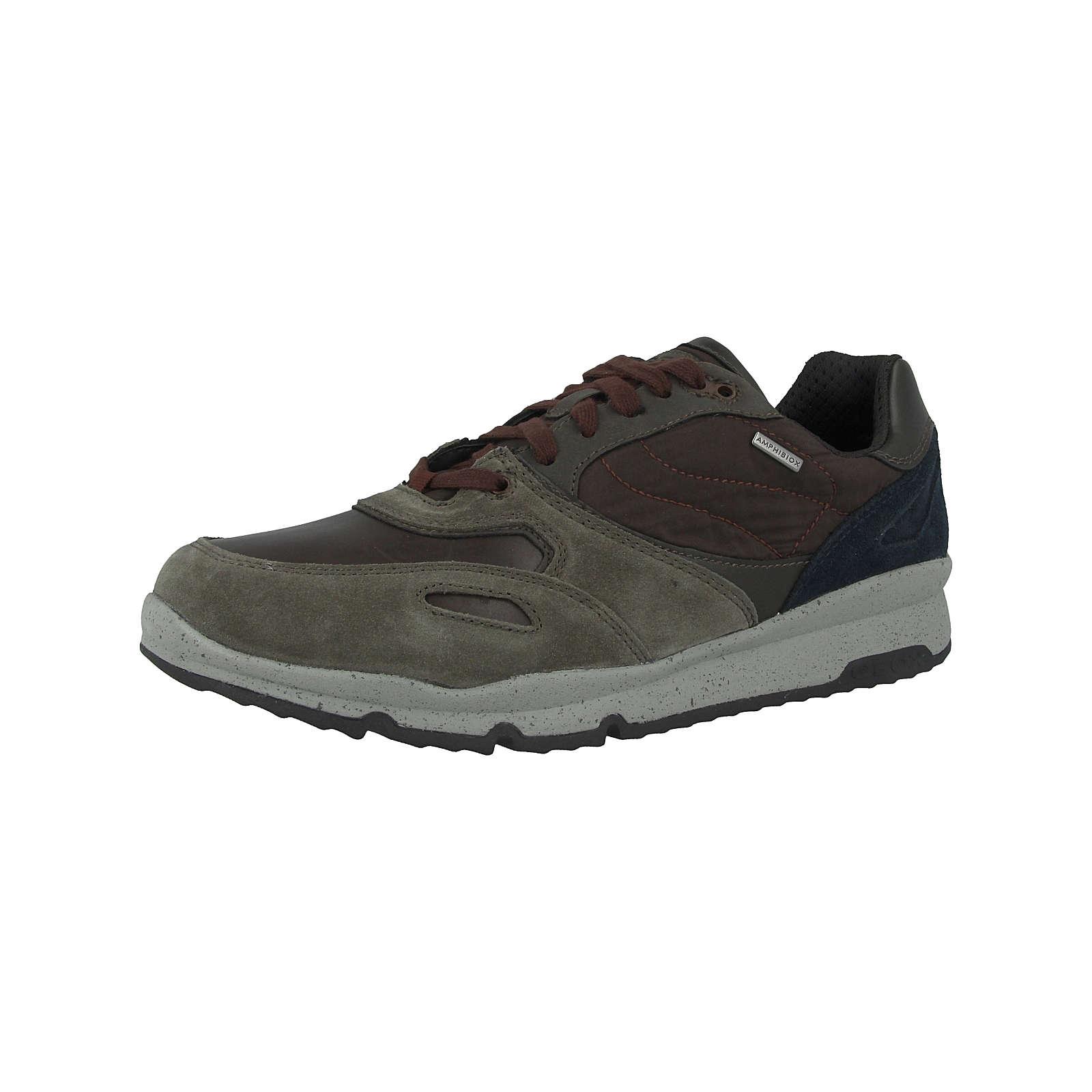 GEOX Schuhe U Sandford B ABX A Sneakers Low braun Herren Gr. 40