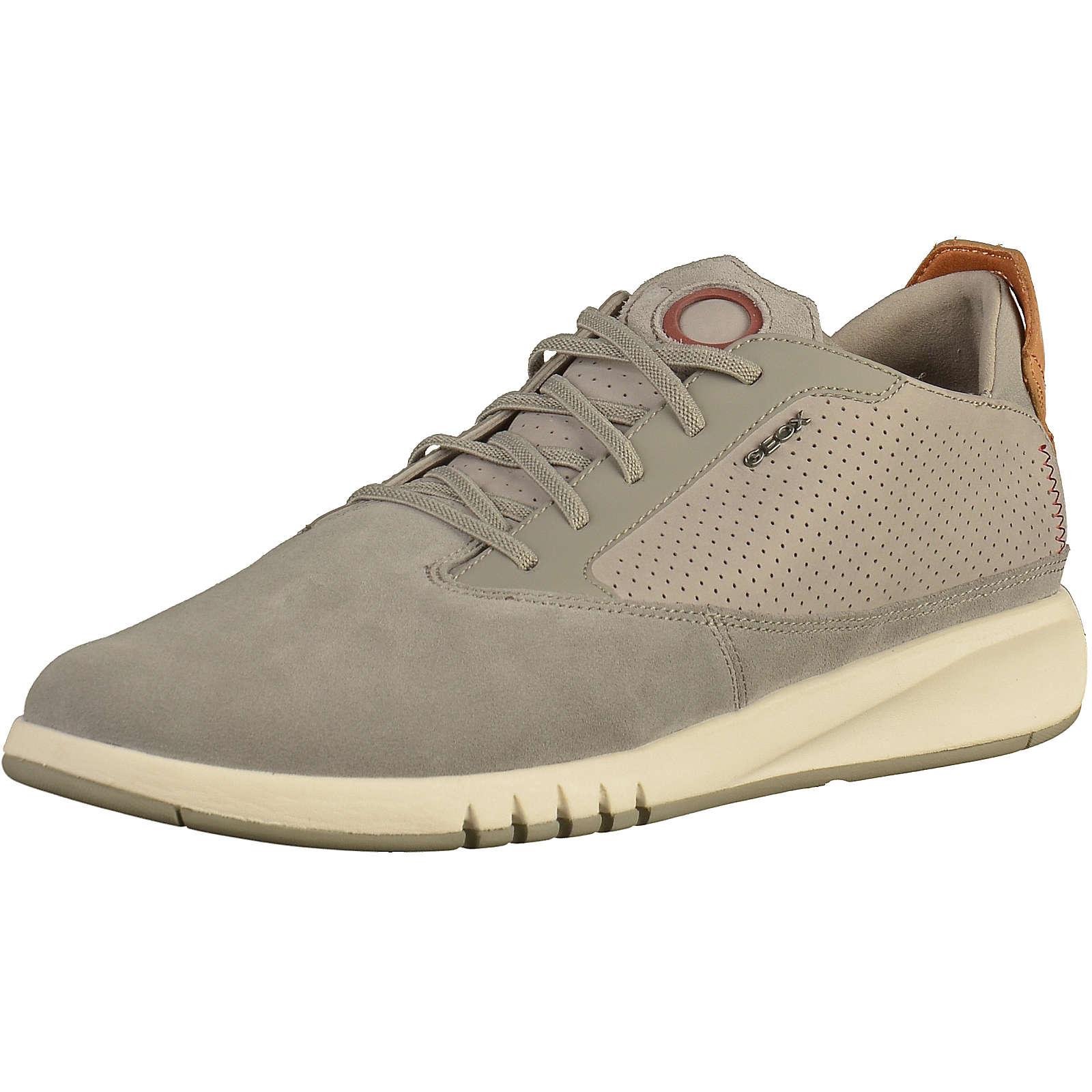 GEOX Sneaker Sneakers Low grau Herren Gr. 41