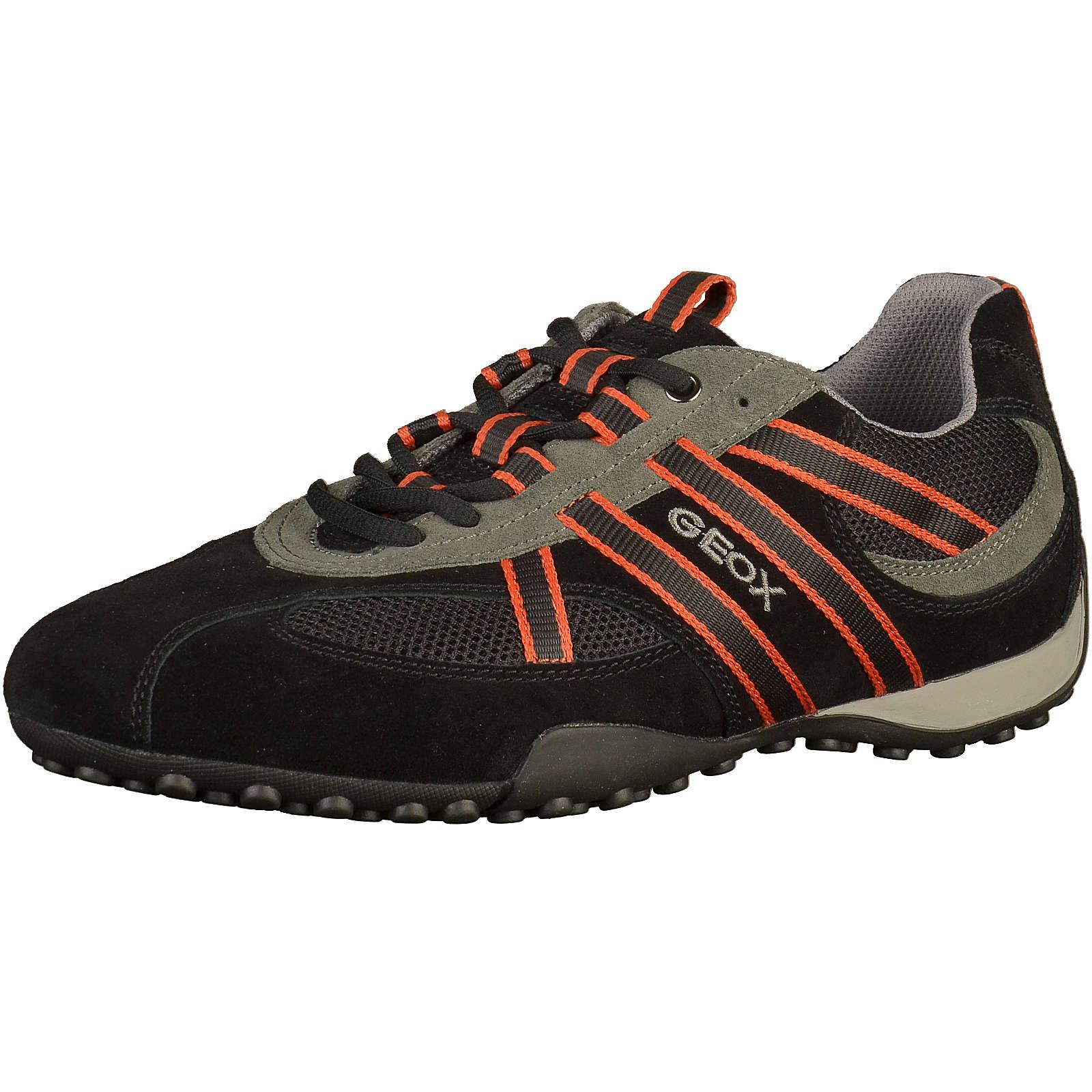 GEOX Sneaker Sneakers Low schwarz Herren Gr. 40