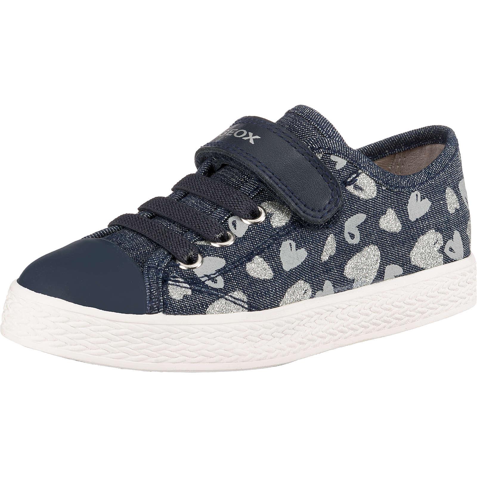 GEOX Sneakers High CIAK GIRL für Mädchen blau/silber Mädchen Gr. 28
