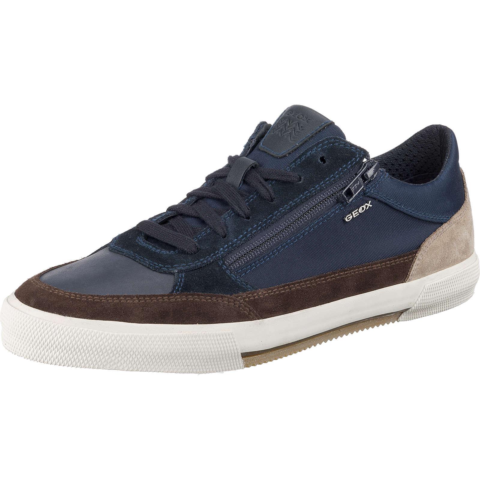 GEOX Sneakers Low blau/braun Herren Gr. 46