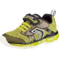 GEOX Sneakers Low Blinkies ANDROID BOY für Jungen gelb Junge Gr. 29