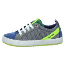 GEOX Sneakers Low J Alonisso B. B für Jungen grau Junge Gr. 37