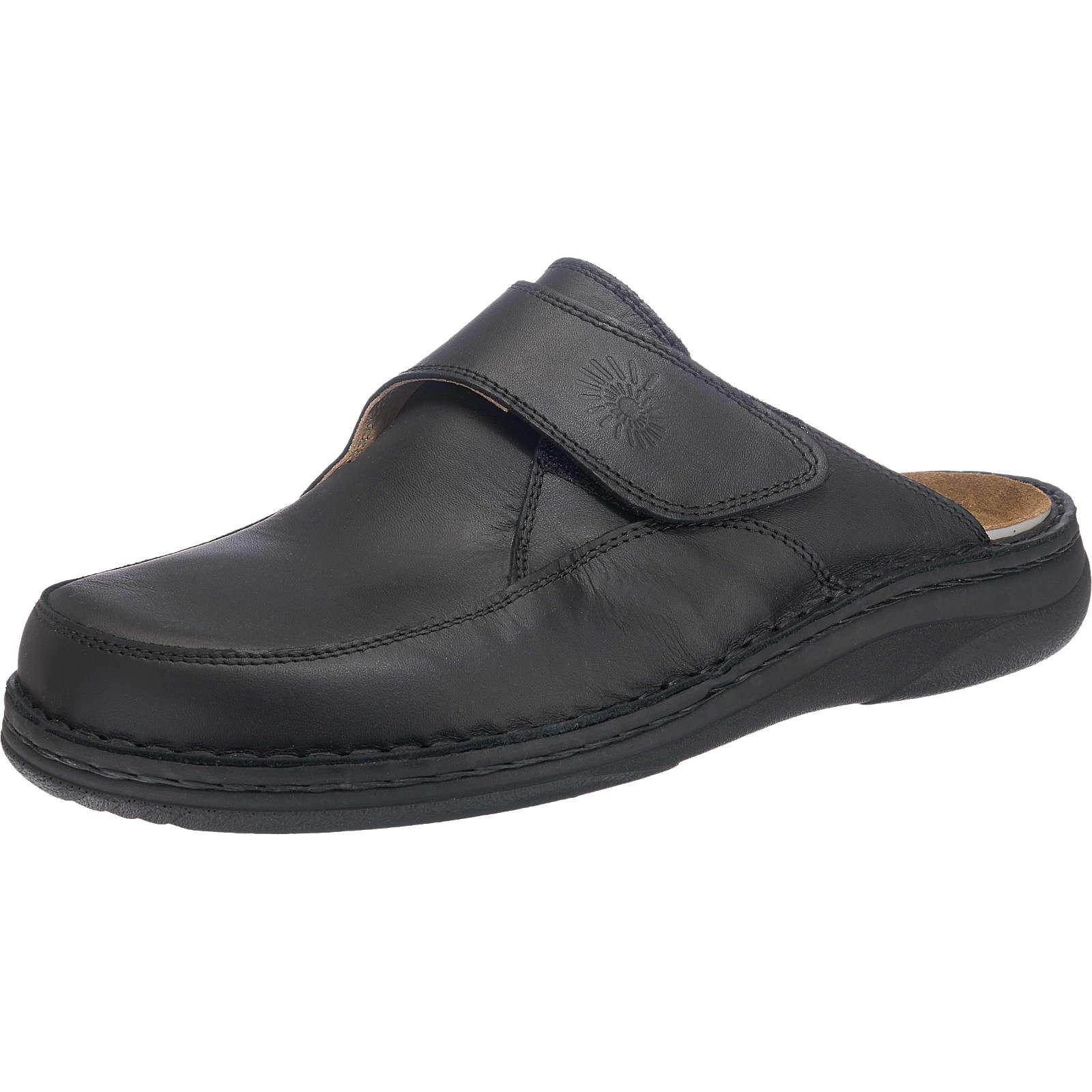 HELIX Pantoffeln schwarz Herren Gr. 39