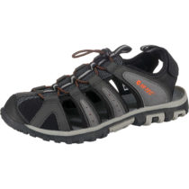 HI-TEC COVE BREEZE Outdoorsandalen grau-kombi Herren Gr. 41