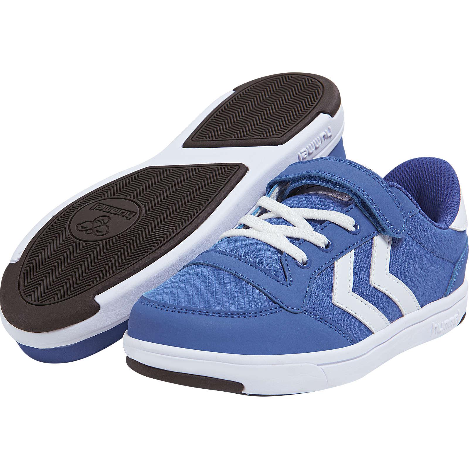 hummel Kinder Sneakers STADIL RIPSTOP blau/weiß Gr. 33