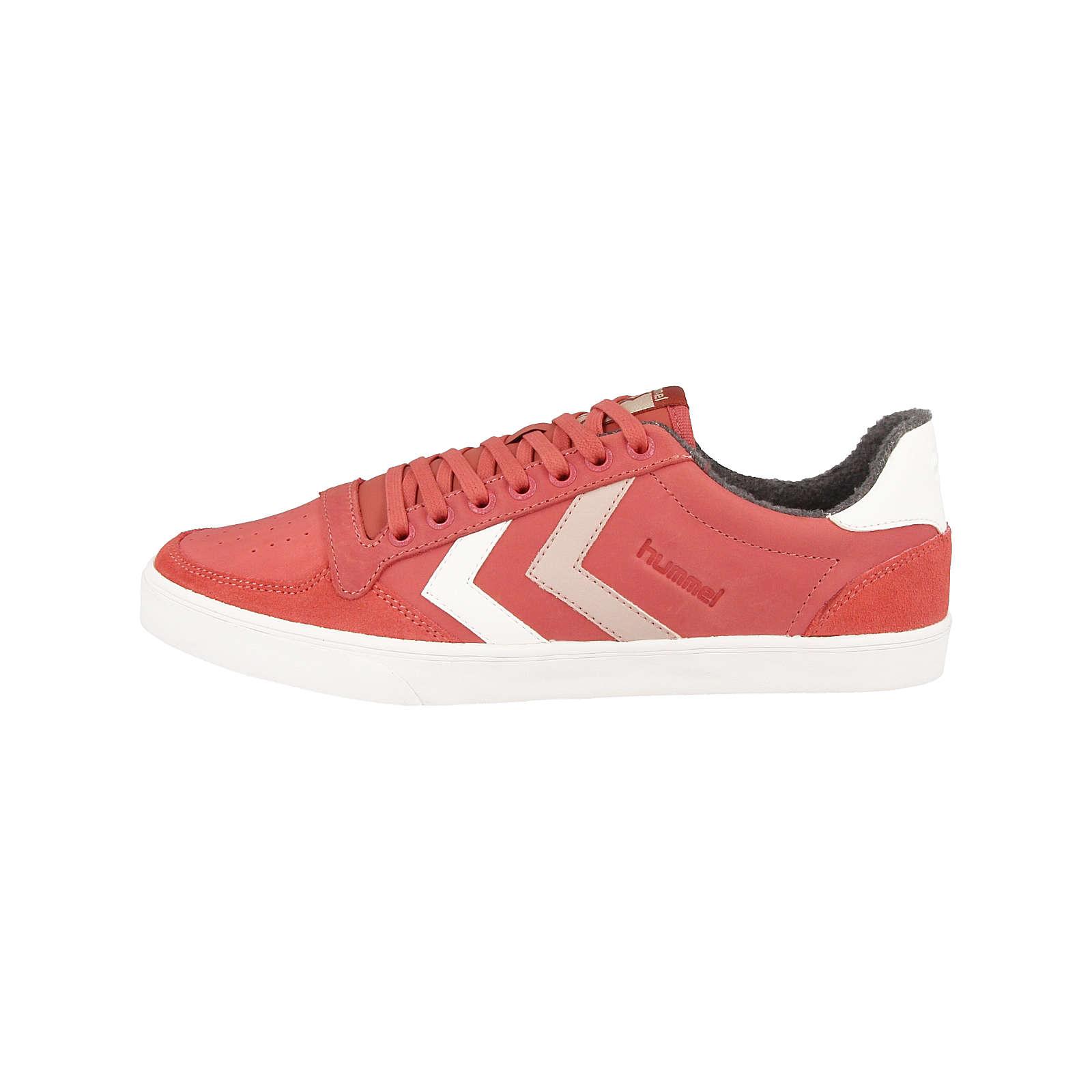 hummel Sneakers Low Stadil Duo Oiled rot Herren Gr. 46