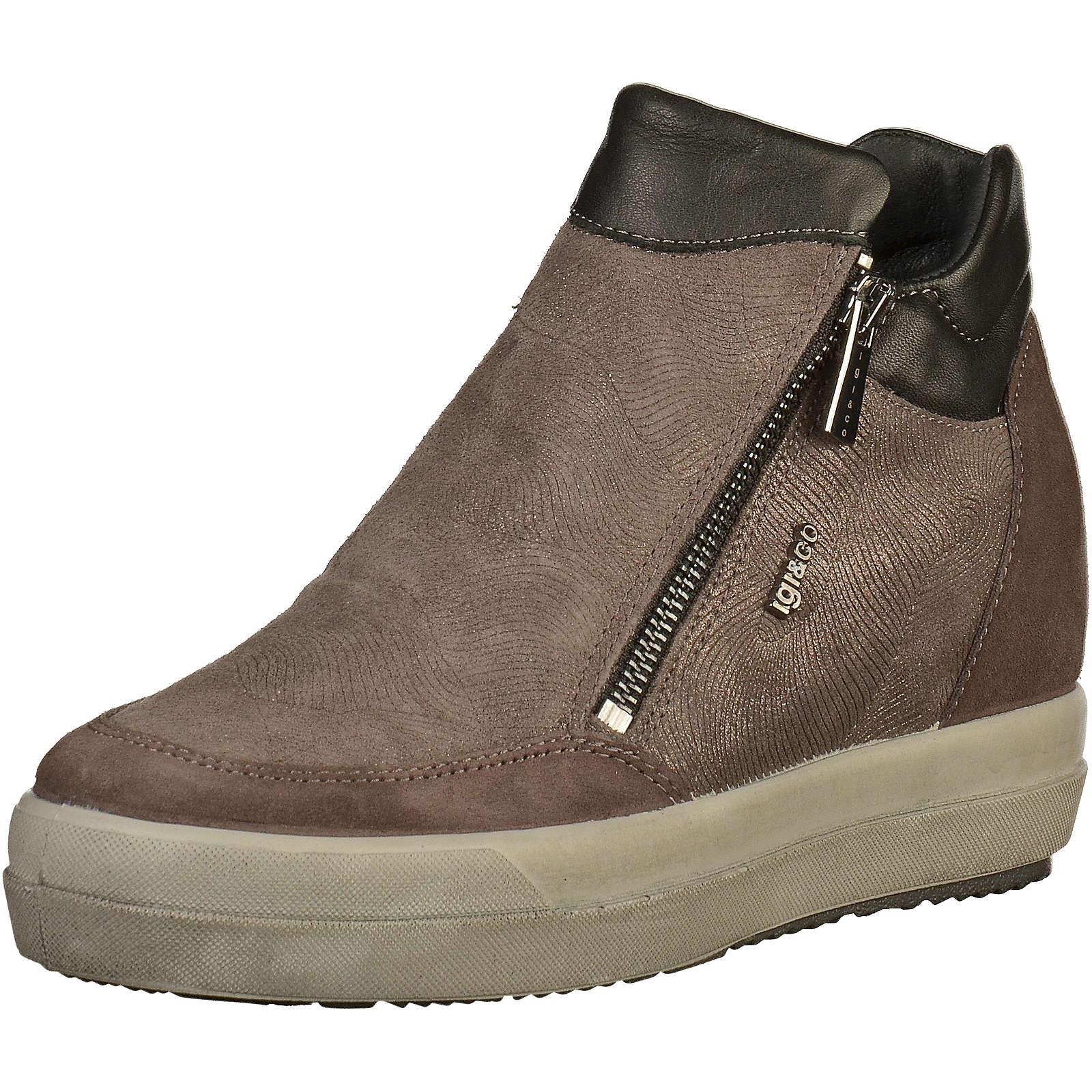 IGI & CO Sneaker Sneakers High anthrazit Damen Gr. 36