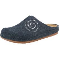 INBLU Pantoffeln blau/grau Damen Gr. 36