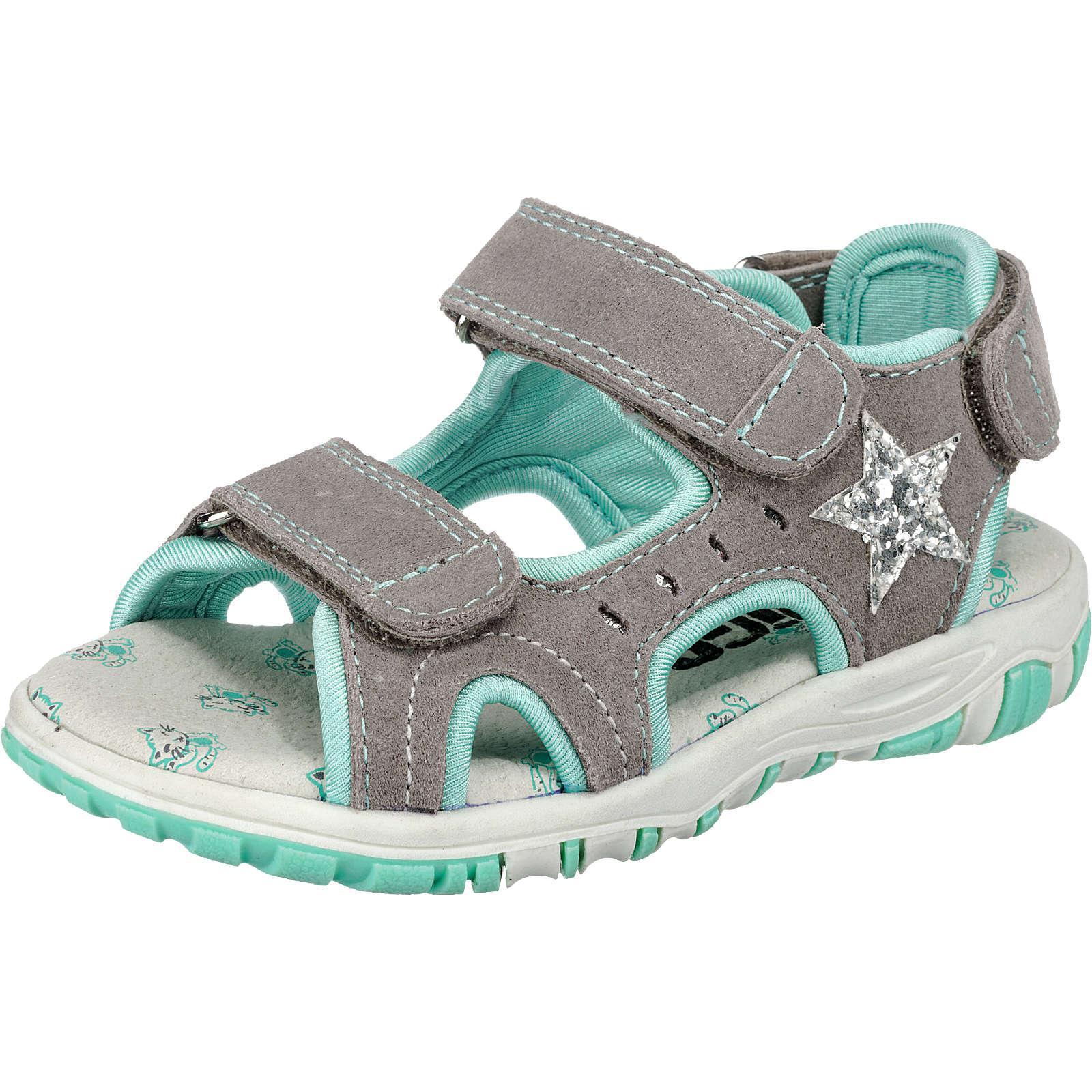 INDIGO Sandalen für Mädchen grau Mädchen Gr. 29