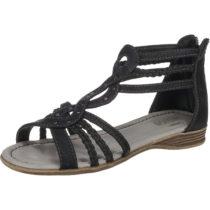 INDIGO Sandalen für Mädchen schwarz Mädchen Gr. 39