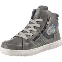 INDIGO Sneakers High für Jungen, gefüttert dunkelgrau Junge Gr. 35