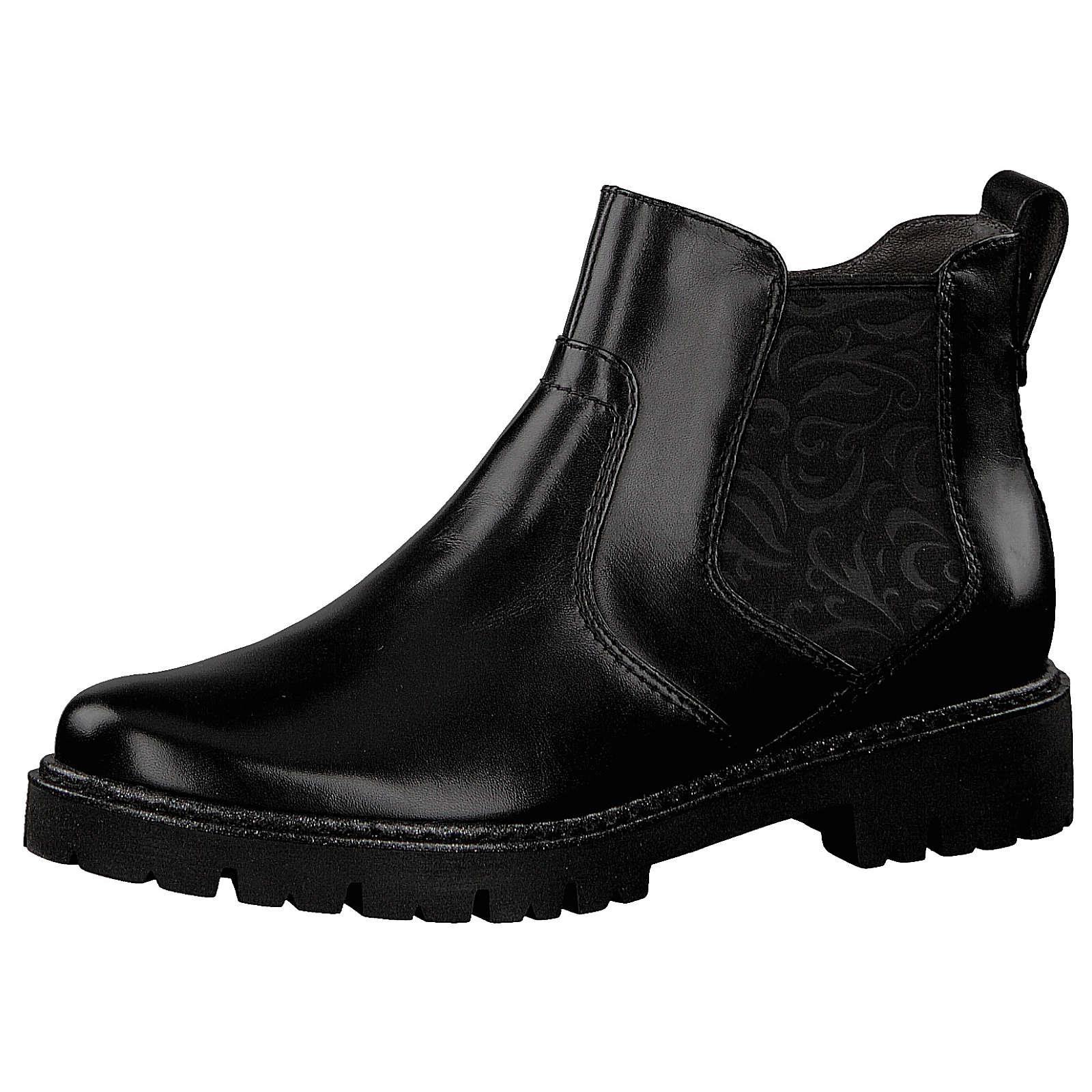 Jana Chelsea Boots schwarz Damen Gr. 40