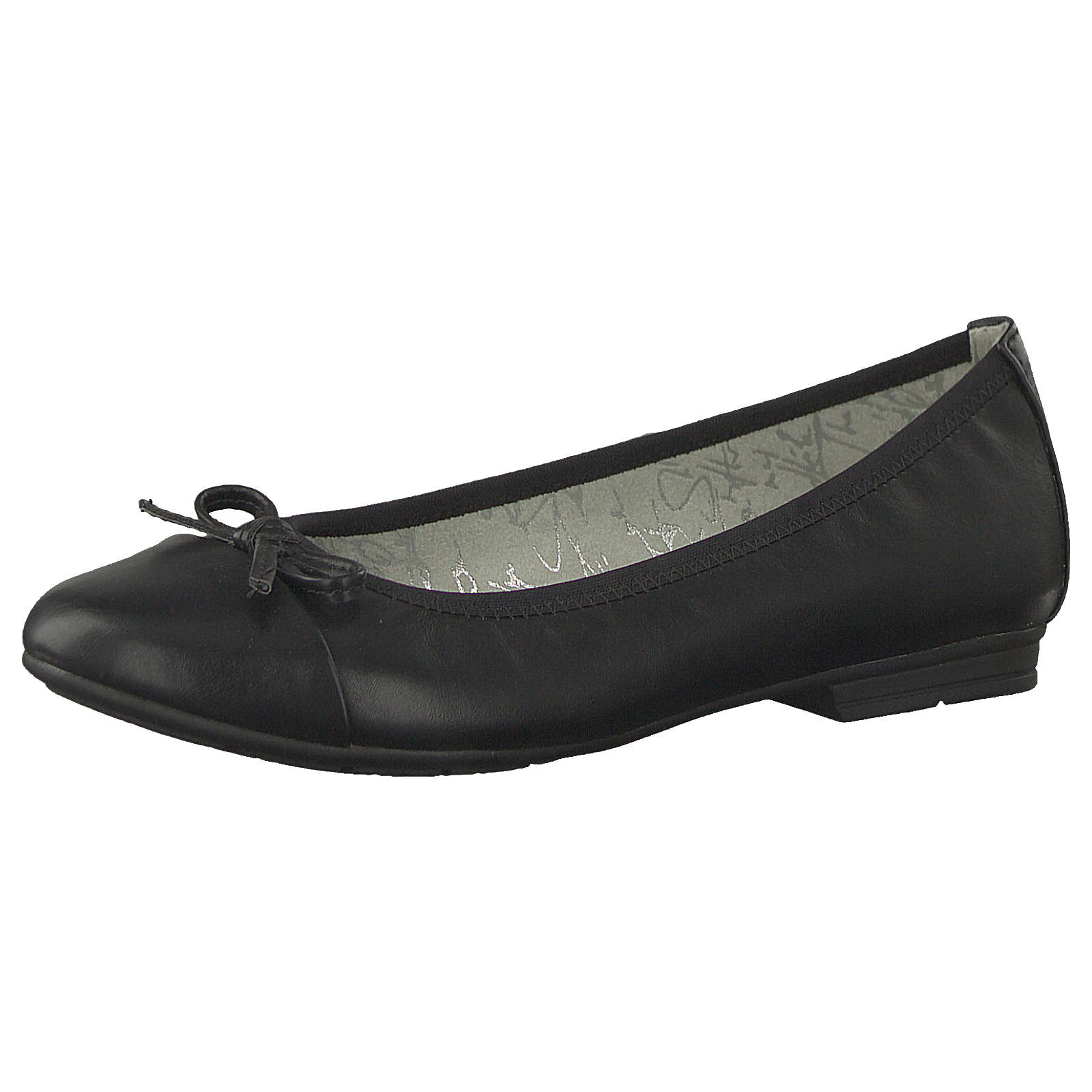 Jana Komfort-Ballerinas schwarz Damen Gr. 36