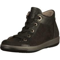 JENNY Sneaker Schnürstiefeletten schwarz Damen Gr. 36